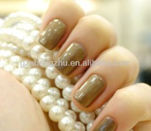 Nail polishing metallic pearl luster bronze pigment