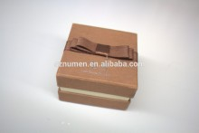 wholesale custom made jewelry paper box with lid