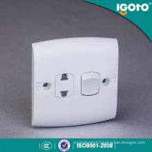 Igoto British Standard E116-1 1 Gang 2 Pin Switch Socket