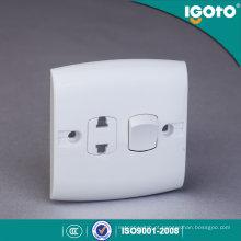 Igoto Padrão Britânico E116-1 1 Gang 2 Pino Interruptor Soquete