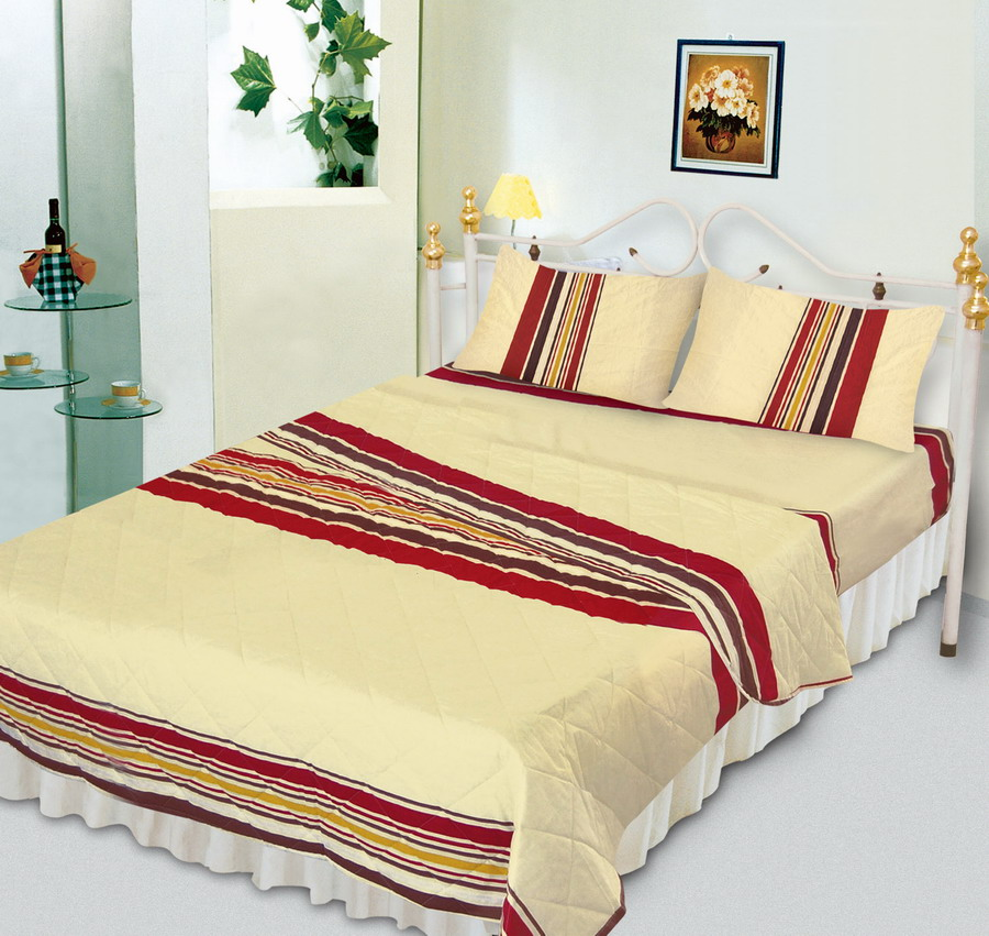 quilt cover set cvc printed