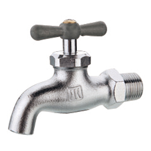 Brass nickel plated bibcock high quality water tap