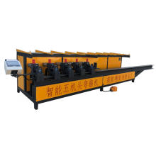 Machine de cerceau de cintrage de barre d'acier à cinq têtes CNC