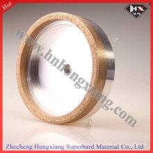 Roue de coupe en métal continu à meulage de diamant pour verre