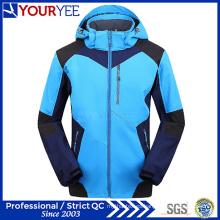 Custom OEM ODM Moda Softshell chaqueta con capucha (YRK118)