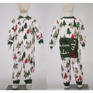 2016 High quality factory supply printed fashion christmas pajamas family