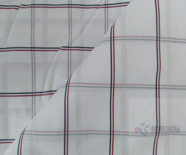 Striped Plain Cotton Yarn Dyed Fabric For Garment3