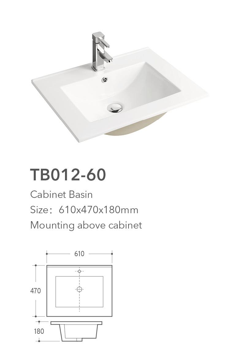 Tb012 60 Cabinet Basin