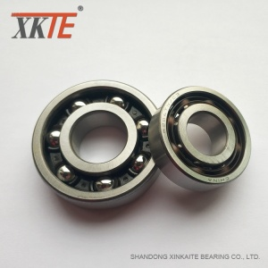 PA66-GF25+Cage+Bearing+For+Bulk+Conveyor+Idler+Roller