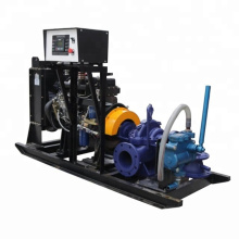 S type horizontal split case centrifugal pump with diesel engine