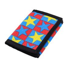 Fashion custom printing stars wallets for kids