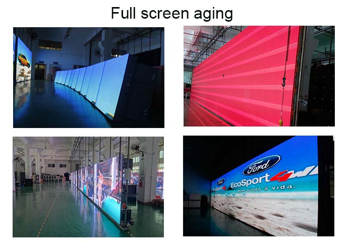 high quality vivid pictures rental led display