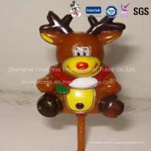 Adornos plásticos personalizados de la Navidad de la venta caliente