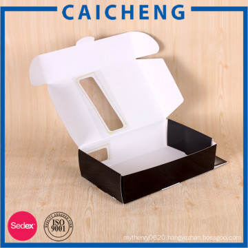Hair extension packaging paper box without glue