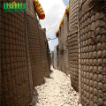 Hesco Barrier Bastion Gabion Box انفجار ضد الجدار