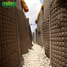 Hesco Barrier Bastion Gabion Box Explosion-Proof Wall