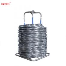 Enrollador de bobina de carrete de cable de alambre vacío