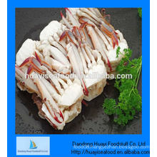 perfect quality frozen half cutting blue swimming crab