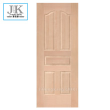 JHK-Economic MDF Popular Low Natural Beech Porta pelle