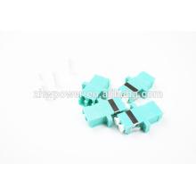 OM3 Adaptateur / Adaptateur Fibre Optique LC / 10G LC Duplex Multi Mode