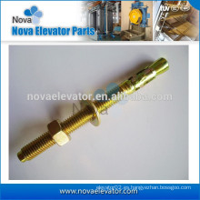 China tamaño estándar tornillo de anclaje