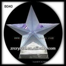 K9 brillante estrella de cristal
