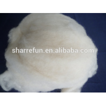 2017 bulk wholesale Chinese Sheep Wool White 18.5mic/34-36mm