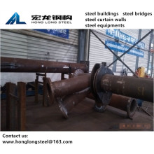 Steel Column Fabrication of Roller Coaster