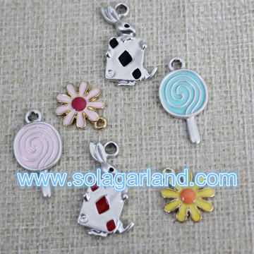 Metal Mix Beads Charms Pendants Lot Jewelry Making Supplies