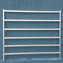 Hot sell high quality cattle fence farm equipment 6 bar livestock yard panels(ISO9001 Factory)