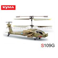 SYMA S109G série de simulação infravermelho, tubarão de helicóptero