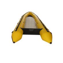 Barco de pesca inflável da jangada do rio leve de 4 medidores