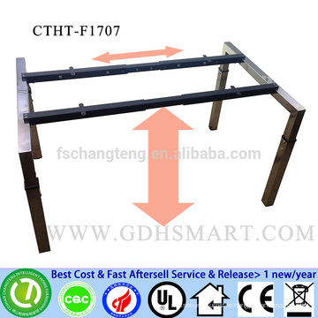 CTHT-F1707 more color height adjustable tables office desks frame with screw