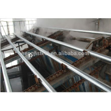 Galvanized ERW steel pipes for construction