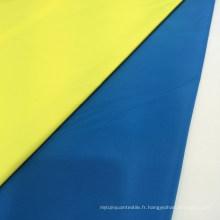 75D Memoire à imitation à rayures 100% Tissu en polyester