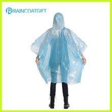 Lightweight Clear PE Disposbale Rain Poncho