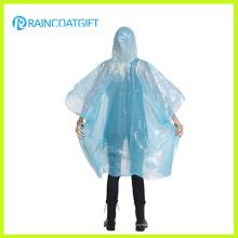 Облегченный Ясный Disposbale ПЭ дождь пончо