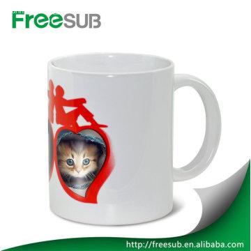 Couple heart custom color changing mug