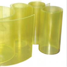Folha de poliuretano amarelo transparente PU