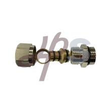 HVAC system brass PEX-AL-PEX fitting nickel plated