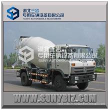 Camion de mélangeur de béton de Dongfeng 4 * 2 4m3