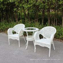Чао мебели новый дизайн патио журнальный столик и стулья