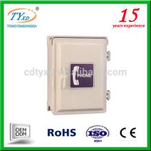 custom factory metal optical waterpproof outdoor telephone distribution box