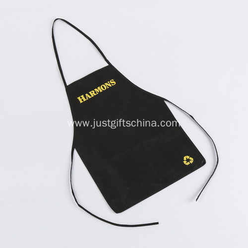 Promotional Imprinted Non Woven Apron Without Pocket
