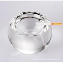 2016 nouveau style boule forme cristal cendrier en verre artisanat