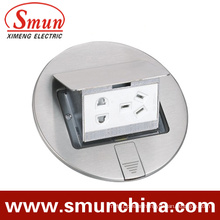 DC-1t/7 Stainless Steel Pop-up Type Floor Socket/Ground Socket