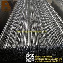 Encofrado galvanizado de alta estriado para materiales de construcción