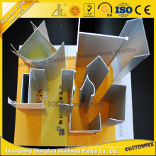 O fornecedor de China anodizou as peças de alumínio limpas do alumínio do perfil