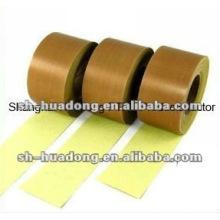 isolação térmica de PTFE revestida a tecido de fibra de vidro