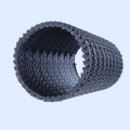 Anti-korosi Plastik Geocomposite Drain Dicth Pipe
